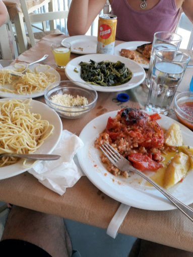 Greek lunch   From the blog of Nicholas C. Rossis, author of science fiction, the Pearseus epic fantasy series and children's book