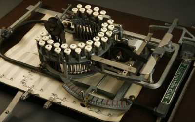 The Typewriter That Lets You Type Sheet Music