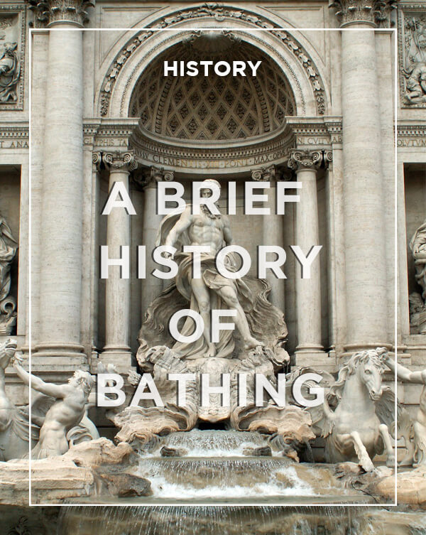 A brief history of bathing | From the blog of Nicholas C. Rossis, author of science fiction, the Pearseus epic fantasy series and children's book