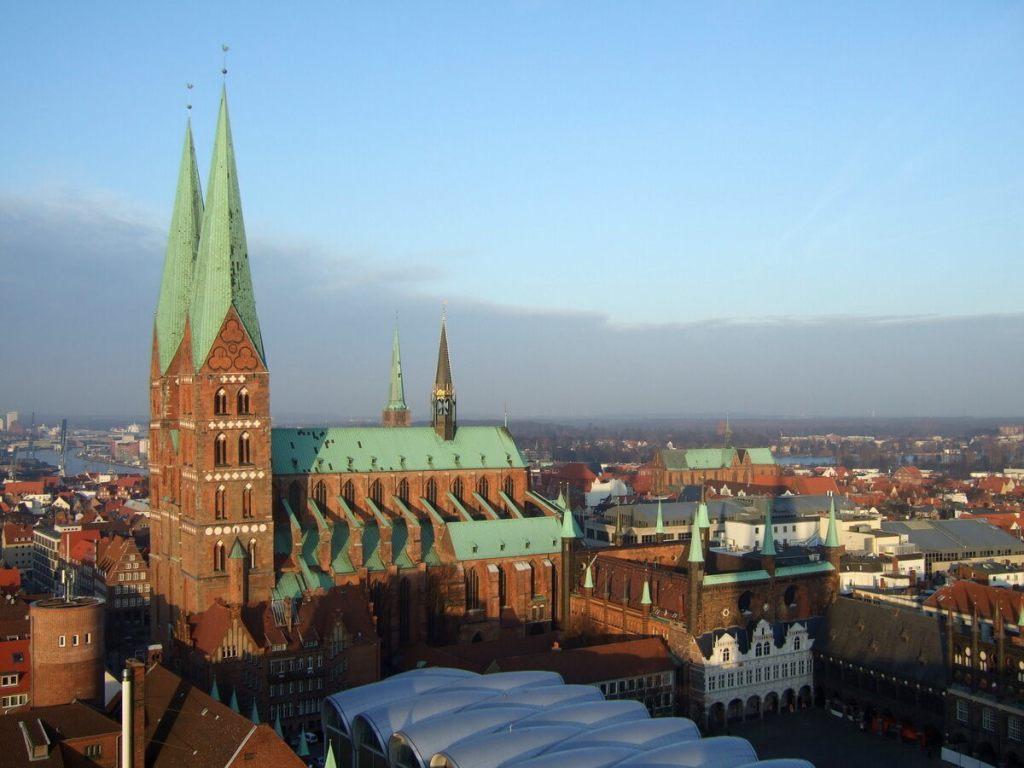 Marienkirche | From the blog of Nicholas C. Rossis, author of science fiction, the Pearseus epic fantasy series and children's book
