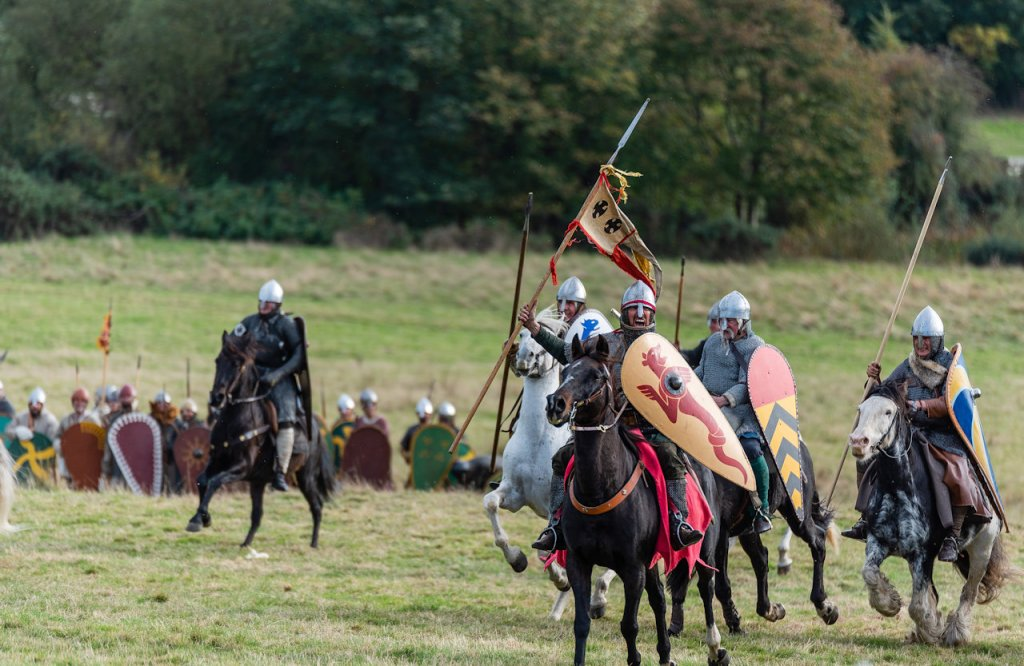 Norman cavalry | From the blog of Nicholas C. Rossis, author of science fiction, the Pearseus epic fantasy series and children's books