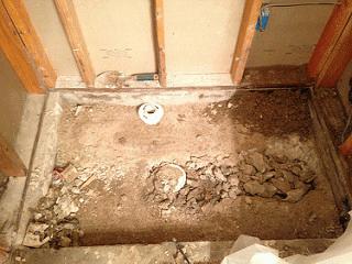 shower pan repair nicholas tile and