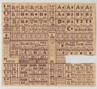 Lebensmittelkarte 1950