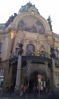 Gemeindehaus Prag
