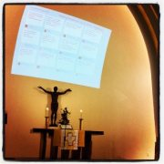 In diesem Gottesdienst: Bitte Smartphones einschalten