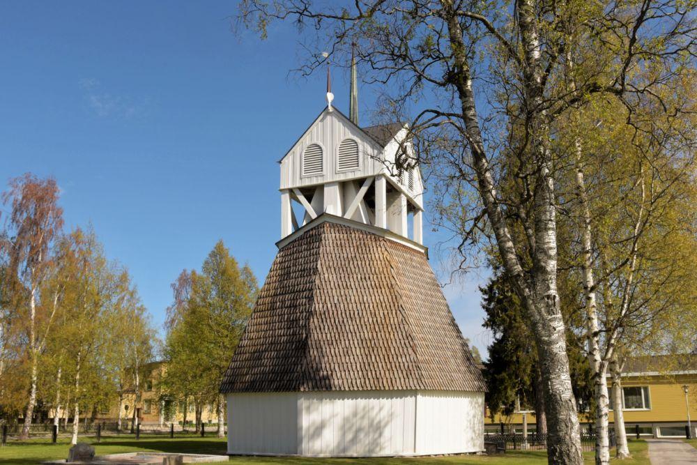 Achteckkirche in Skelleftea