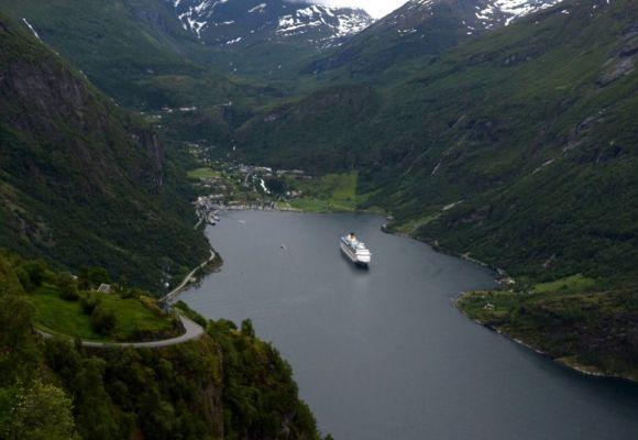 Über die Atlantikroute und den Trollstigen nach Geiranger
