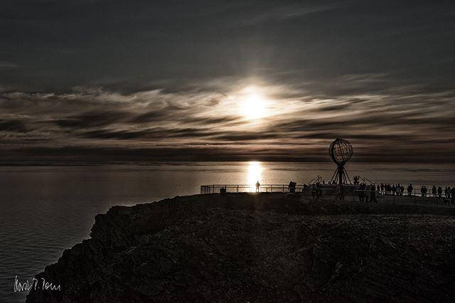 Mitternachtssonne am Nordkap