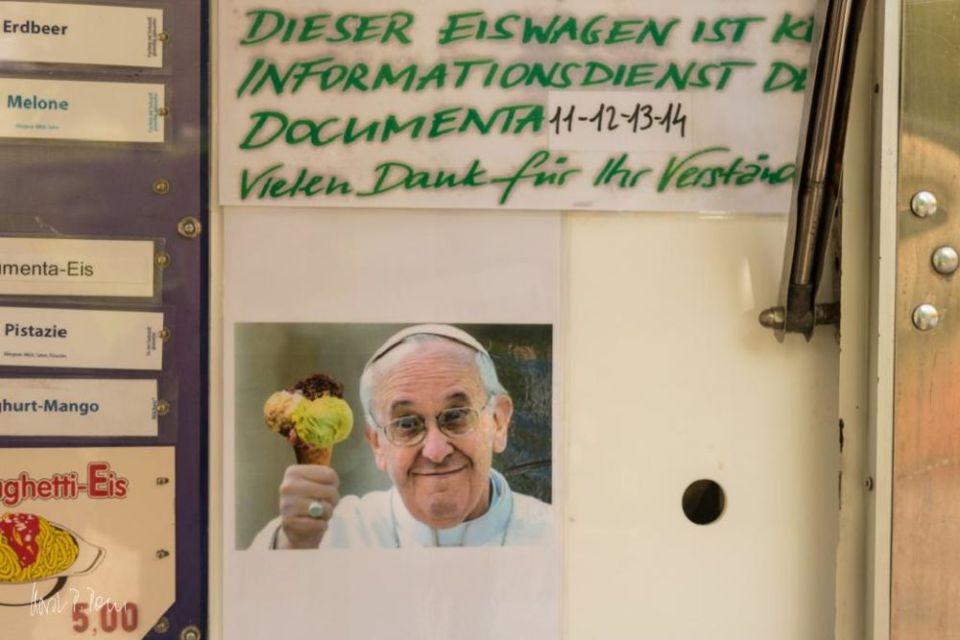 Keine Info hier - nur Documenta-Eis