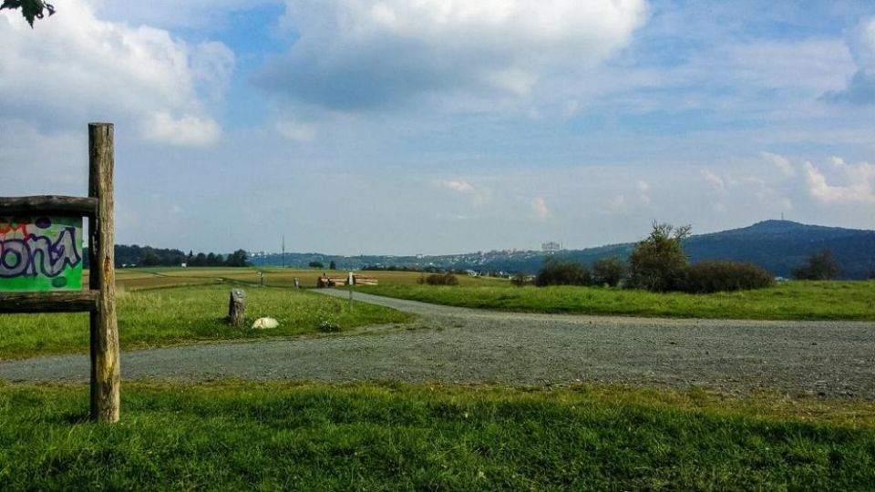 Unterwegs durch die Felder