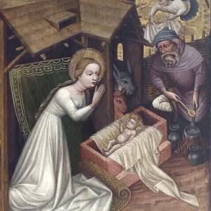 Meister von St. Sigmund um 1440. Im Wallraf-Richartz-Museum, Köln.