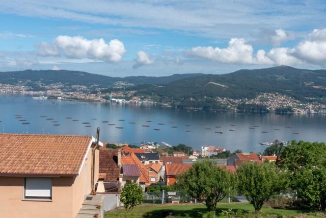 Blick auf den Ria de Vigo