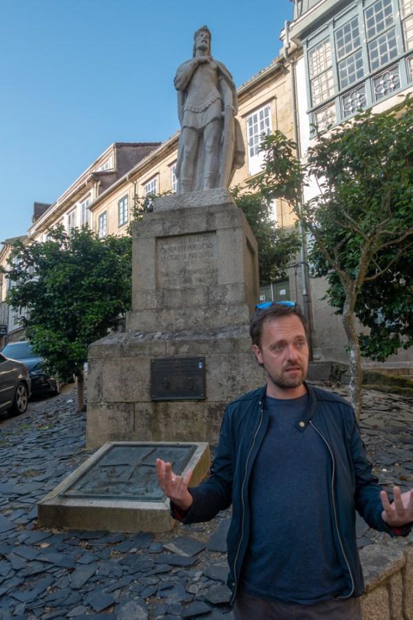 König Alfons II., der erste Pilger