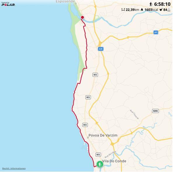 3, 5 km kommen noch hinzu, insgesamt 26 km