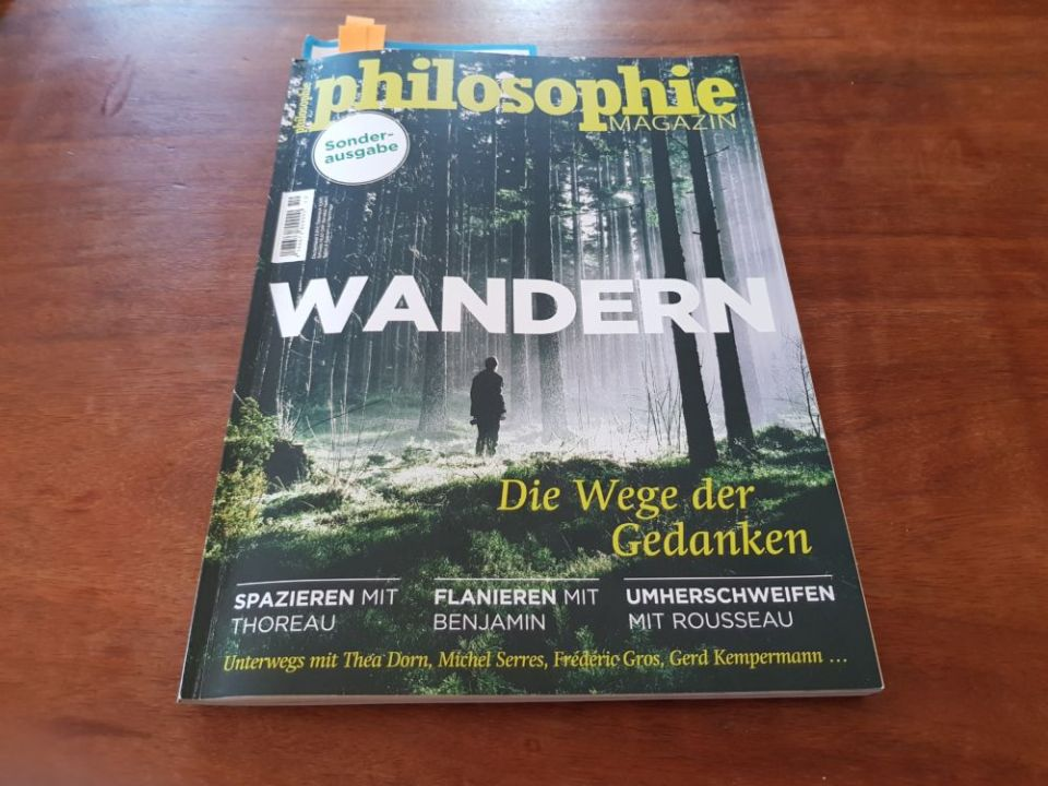 """Zeitschrift """"Philosophie"""": Wandern"""