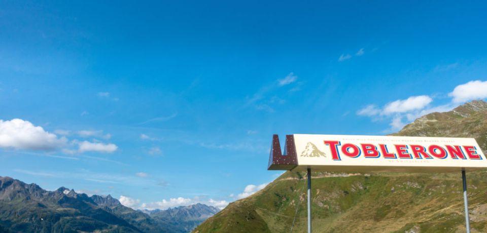 Aussicht vom Gotthard - ganz ohne Werbung