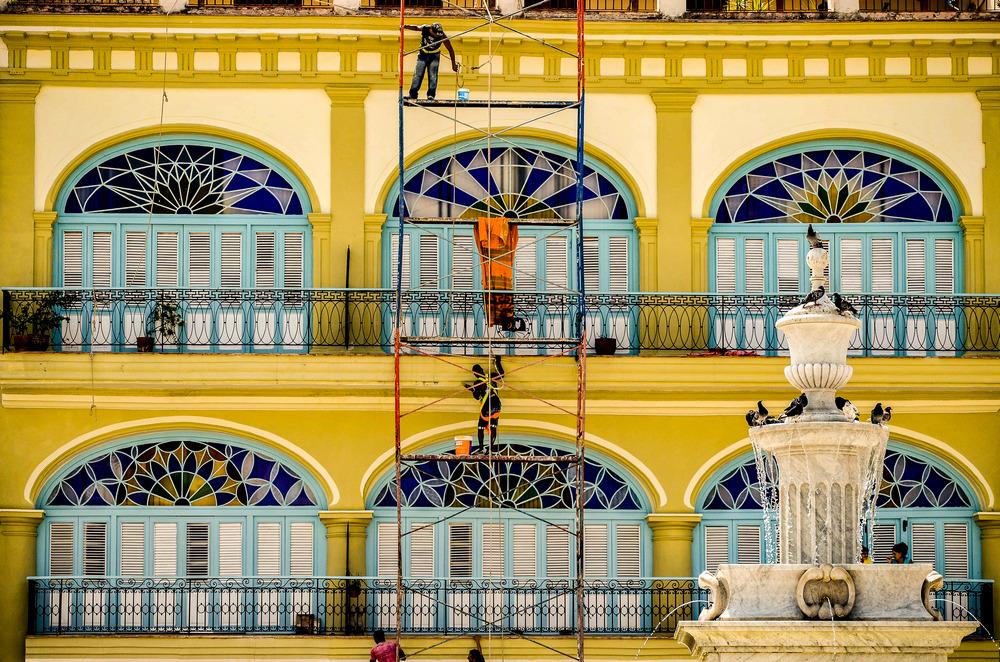 Hausfassade in Havanna