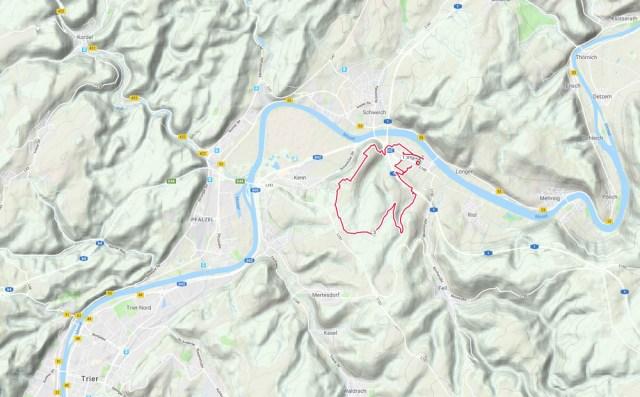 """Mosel-Seitensprung """"Longuicher Sauerbrunnen"""""""