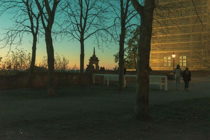 Abendstimmung in Aschaffenburg