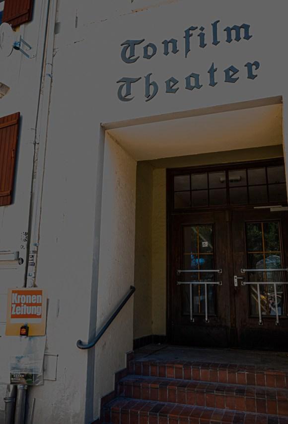 Auch ein Tonfilmtheater hat Bregenz schon