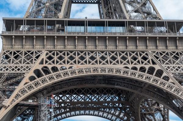 Details des Eiffelturms