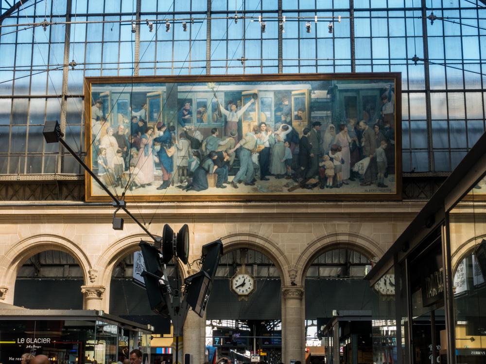 Im Gare d'Est