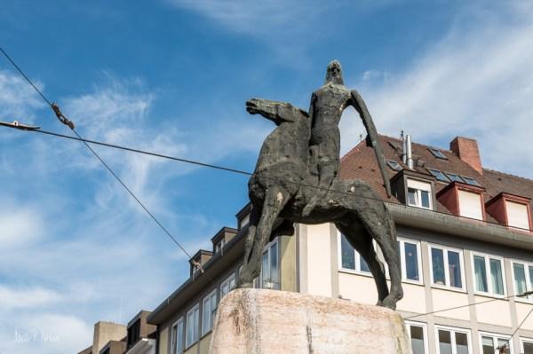Skulptur des Bertoldsbrunnens
