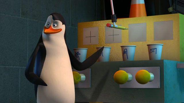 Penguins Madagascar Badger Pride