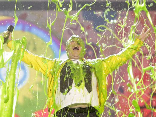 Bring On the Slime|Jack Black basks in all of his goo-lory in the ooeist, gooiest, finale slime-tacular!
