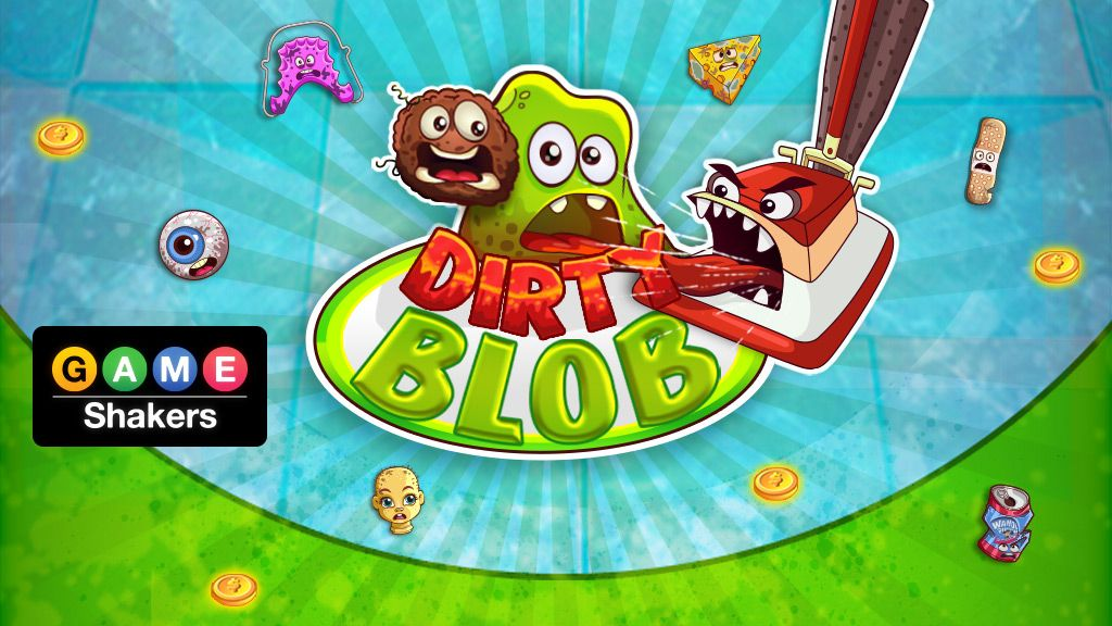 game shakers dirty blob puzzle game