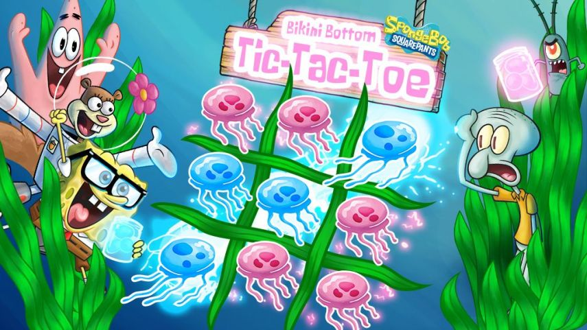 SpongeBob SquarePants  The Goo From Goo Lagoon SpongeBob SquarePants  Bikini Bottom Tic Tac Toe