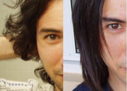 Hair comparison