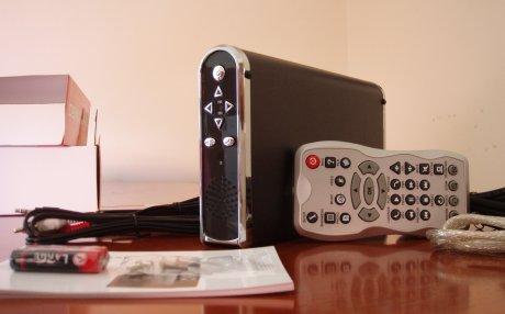 MediaBank after installation of HDD
