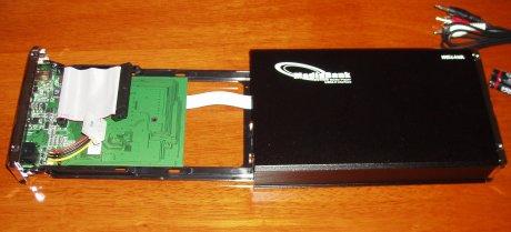 MediaBank HDD tray