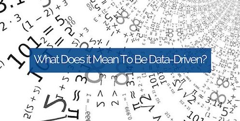 What Does it Mean To Be Data-Driven?