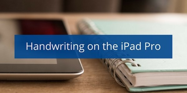 how to write a letter on my ipad pro