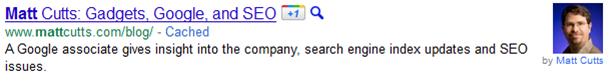 Google Suche mit Artikelautor