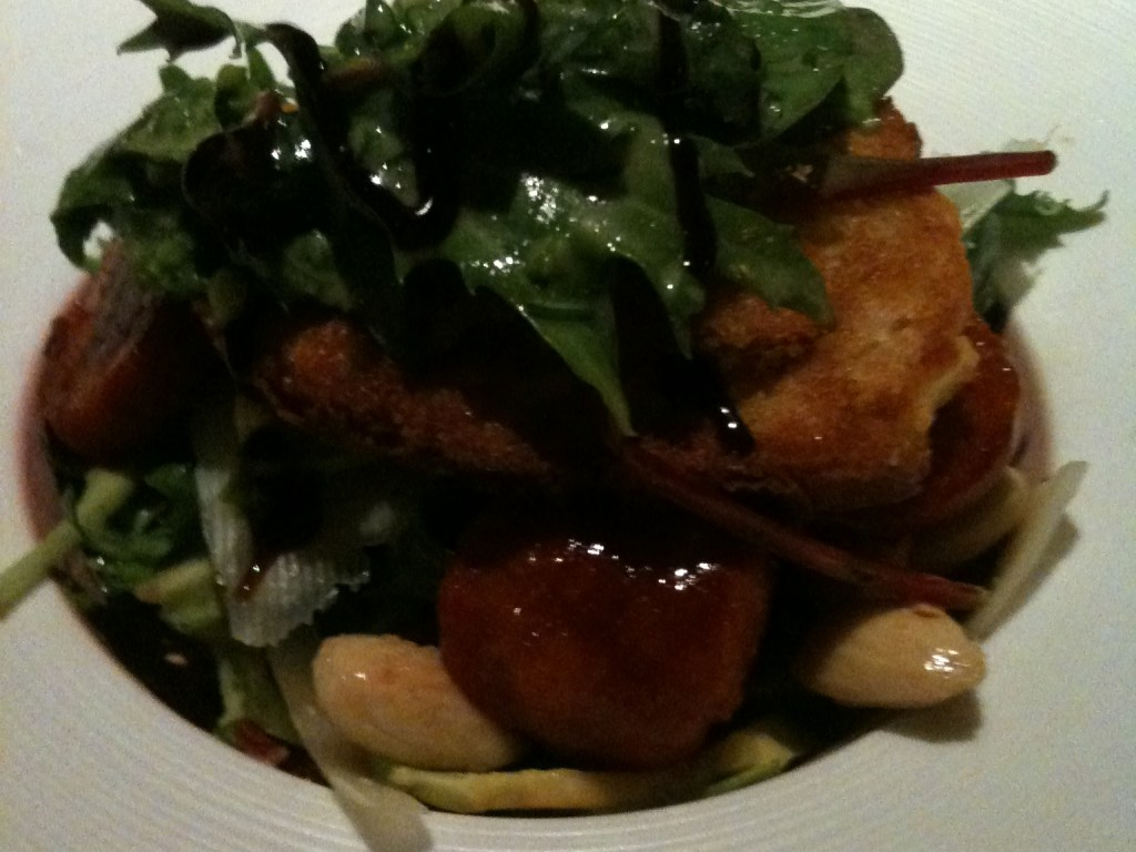 Salat mit Chorizo und Manchego @ GUI