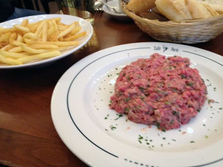 Tartare du chef @ Café Paris, Hamburg