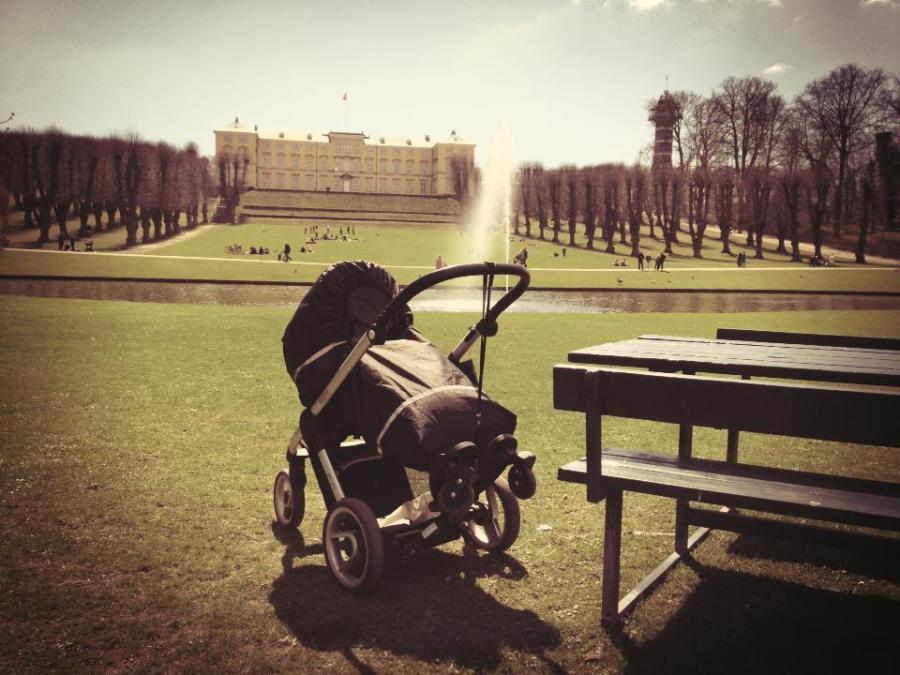 Mittagsschlaf @ Fredriksberg Slot, Kopenhagen, Dänemark