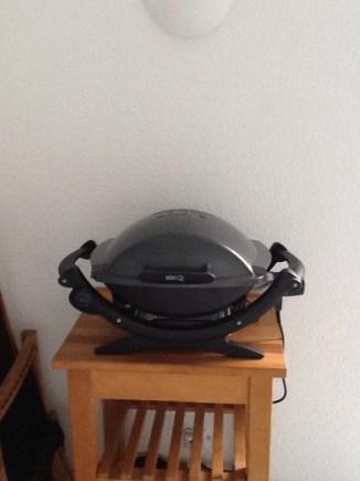 Mein neuer Grill... Weber Q140
