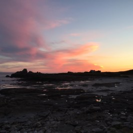Sonnenuntergang III @ Lesconil, Frankreich