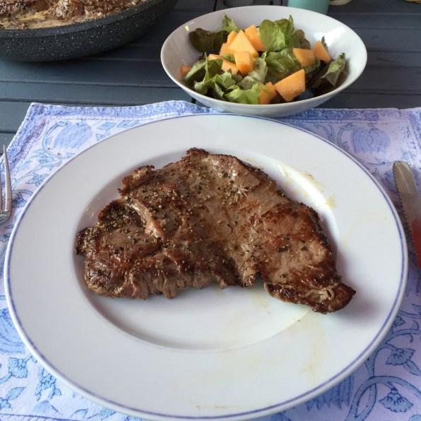 Steak @ Maison de vacances