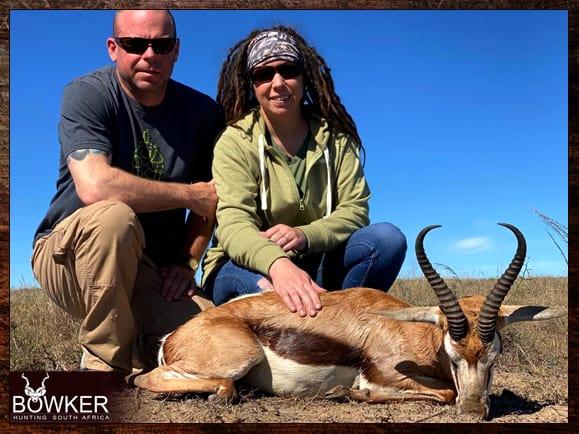Springbok guided hunt