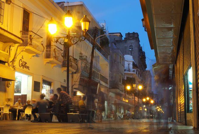 El Conde at night