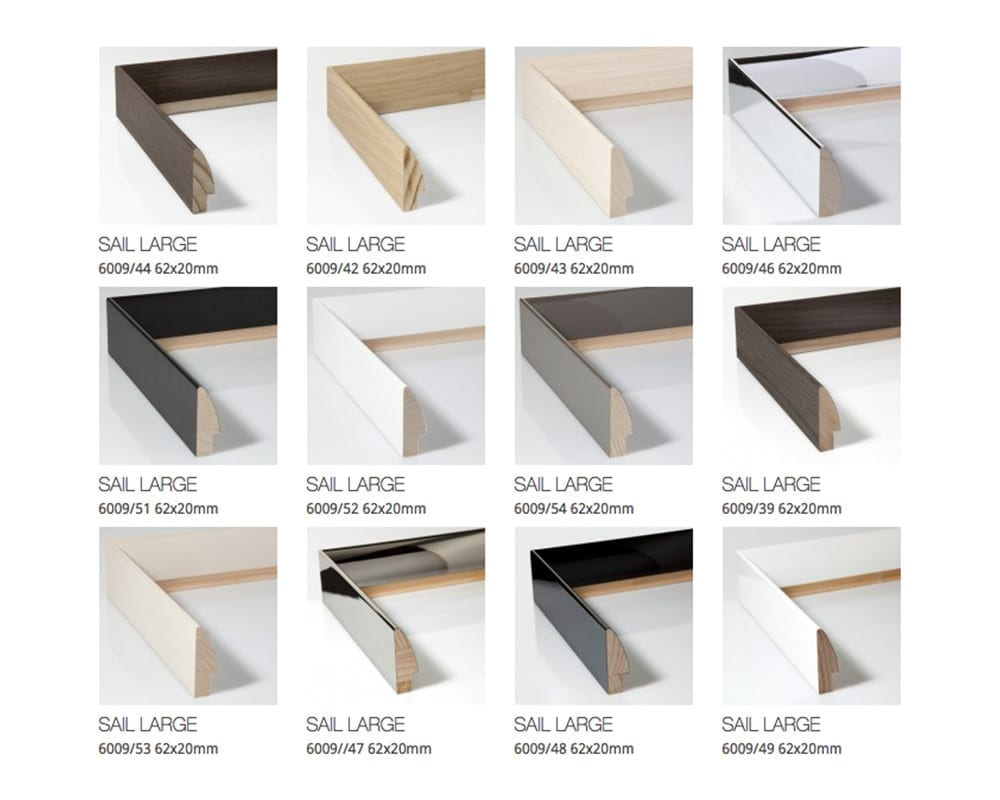 Sail Available Finishes