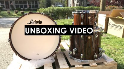 nick costa music nick costa drums ludwig classic maple drum kit unboxing