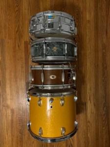 Drum Restorations by Nick Costa
