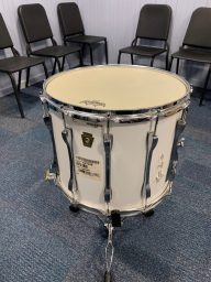 """Vintage Ludwig 15"""" Marching Snare restored by Nick Costa for Franklin Learning Center (Philadelphia, PA)"""
