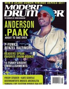 Nick Costa Modern Drummer, nick costa modern drummer magazine august 2019, modern drummer lesson, free drum lesson,